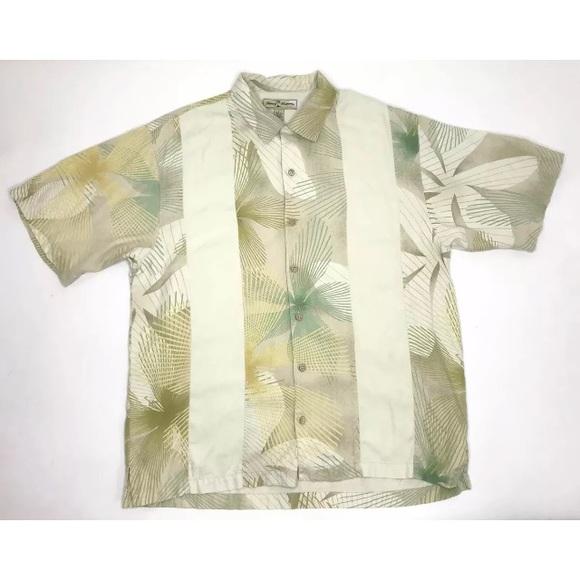 038dc32a Tommy Bahama Shirts | Silk Shirt Men Large Hawaiian | Poshmark